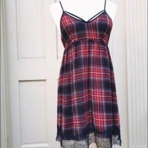 BCBGeneration Plaid Dress